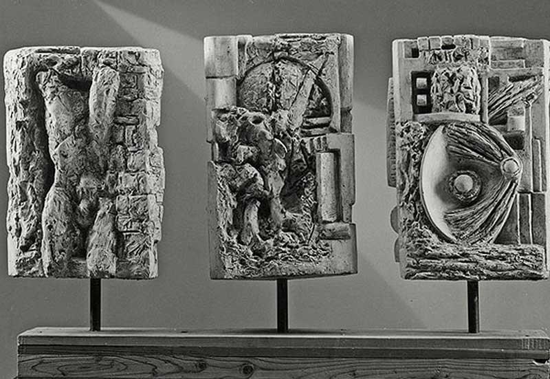 sculture in porfido